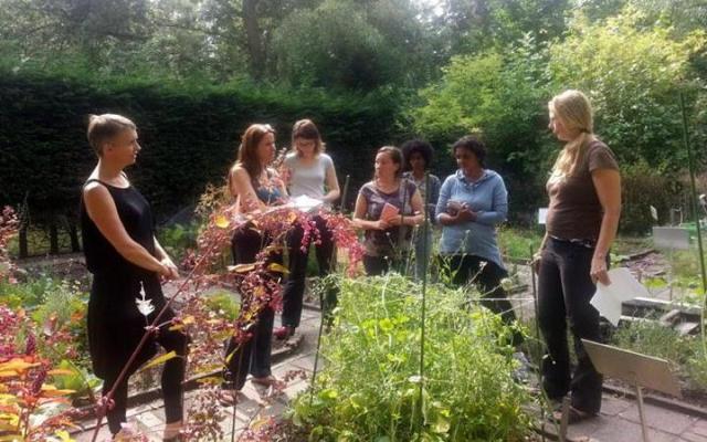 August 2013: Seed saving workshop (Photo: Mae Ocampo)